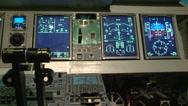 Stock Video Footage of Aviation simulator