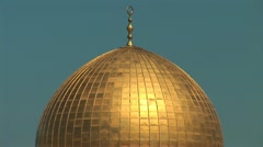 Stock Video Footage of Jerusalem - Dome of the Rock