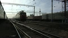 rail, locomotive - stock footage