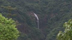 Waterfall at Dongguan Country Side near Zhangmutou Stock Footage