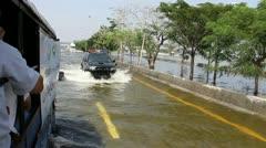 Thailand Flood Ayutthaya 9759 - stock footage