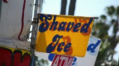 Shaved Ice 01 HD Stock Footage