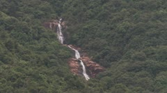 Waterfall at Dongguan Country Side near Zhangmutou - stock footage
