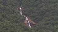 Stock Video Footage of Waterfall at Dongguan Country Side near Zhangmutou