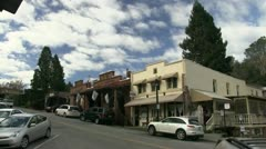 Small town U.S.A. Stock Footage