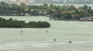 Miami Bay and Boats HD Stock Footage