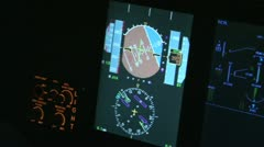 Aviation simulator - stock footage