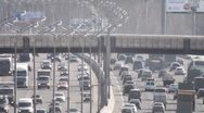 Stock Video Footage of moscow big ring road