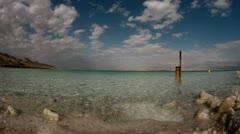Dead sea timlapse  0312 1 Stock Footage