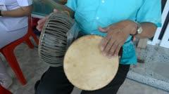 Thai drum Stock Footage