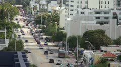 Alton Road in Miami Beach HD - stock footage