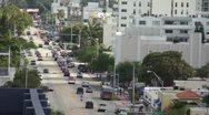 Alton Road in Miami Beach HD Stock Footage