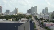 Alton Road in Miami Beach HD Stock Footage