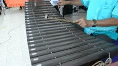 Thai xylophone Stock Footage