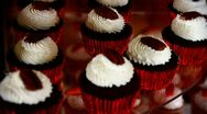 Small cakes Stock Footage