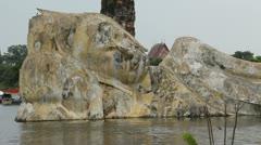 Thailand Flood Ayutthaya 9810 Stock Footage