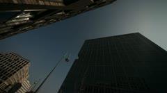 Skyscraper, Modern Buldings Stock Footage