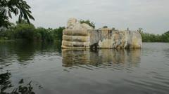 Thailand Flood Ayutthaya 9819 Stock Footage