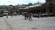 Stock Video Footage of 184 time lapse, Tourists in Covent Garden time lapse