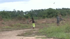 Liberia - Kids Play Stock Footage