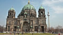Berliner dome timelapse Stock Footage