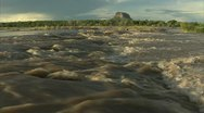 Stock Video Footage of River in Flood