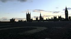 239.1 time lapse, low angle bigBen court Stock Footage