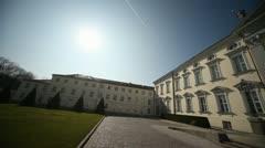 Bellevue Palace, Berlin, Germany (Schloss Bellevue) Stock Footage