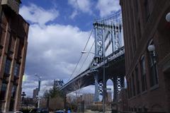 Brooklyn Bridge Kuvituskuvat
