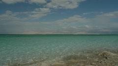 Dead sea pan 0312 12 Stock Footage
