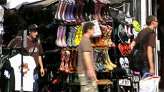 217# time lapse, Camden market London Stock Footage