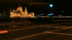 Hungarian parliament 2 Stock Footage