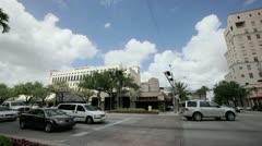 Miracle Mile Miami Stock Footage