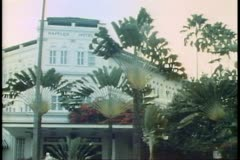 Raffles Hotel in Singapore, Stock Footage