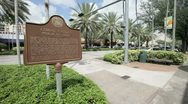 Stock Video Footage of Miracle Mile Coral Gables