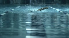 Swimming Stock Footage