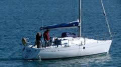 Sailing Away Stock Footage