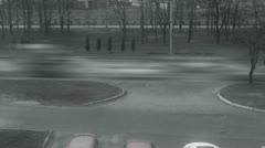Kharkov street timelapse - stock footage