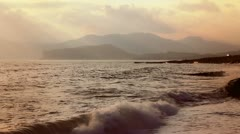 Beautiful landscape near cape Meganom (Full HD) Stock Footage