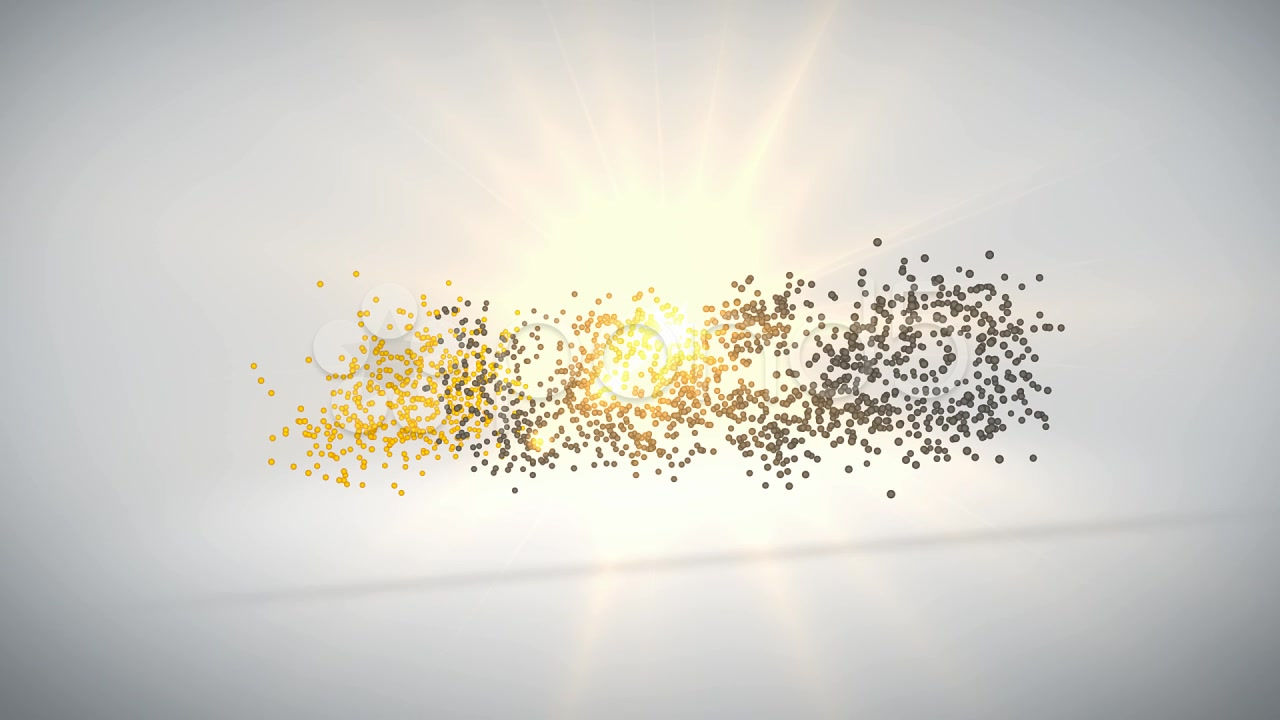 After Effects Project - Pond5 Particle logo formation 10849755