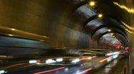 Tunnel, Budapest, Hungary Stock Footage