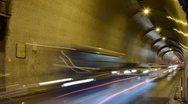 Tunnel, Budapest, Hungary Stock Footage