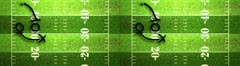 American Football Tactics 02 Stereoscopic 3D Side by Side Stock Footage