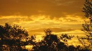 Stock Video Footage of Orange Morning Sky