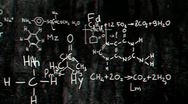 Chemistry v1 01 Stereoscopic 3D Anaglyph red blue Stock Footage