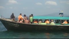 Krabi, Thailand - Long Tail Boats Achor 01 - stock footage