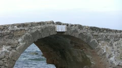 Roman Stone Bridge - stock footage
