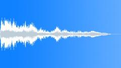 Metallic futuristic swirl whizz - sound effect