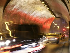 4K Tunnel Traffic Timelapse Stock Footage