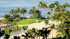 Ocean Resort Oahu Hawaii - stock footage